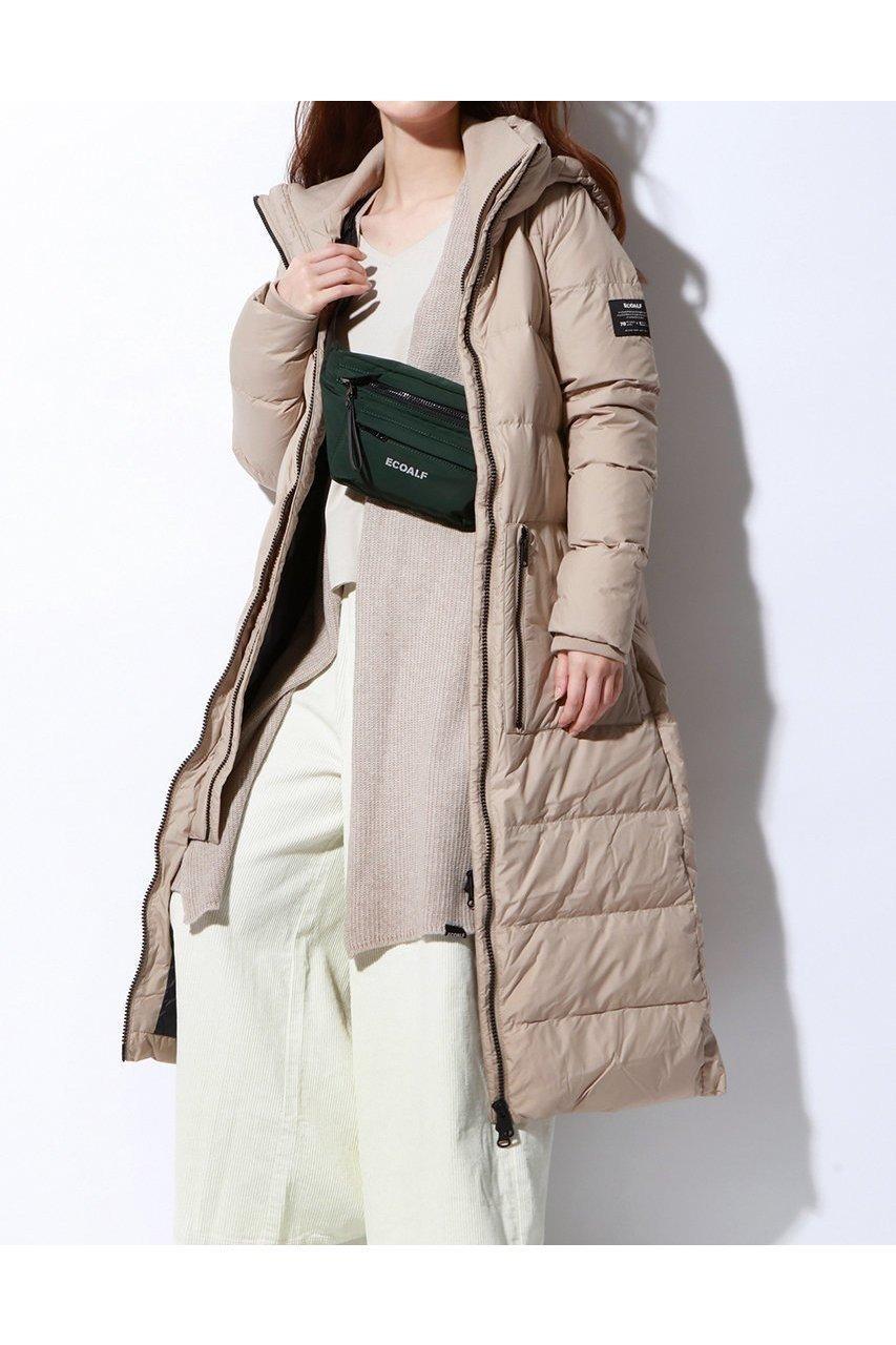 再生ポリエステル素材の本格防寒ダウンコート 人気、トレンドファッション・服の通販 founy(ファニー) 【エコアルフ/ECOALF】 ファッショントレンド Fashion trends ブランド Brand ファッション Fashion レディース WOMEN アウター Coat Outerwear コート Coats スタンダード センター ダウン トレンド ハイネック ロング 防寒 |ID:prp329100000052337