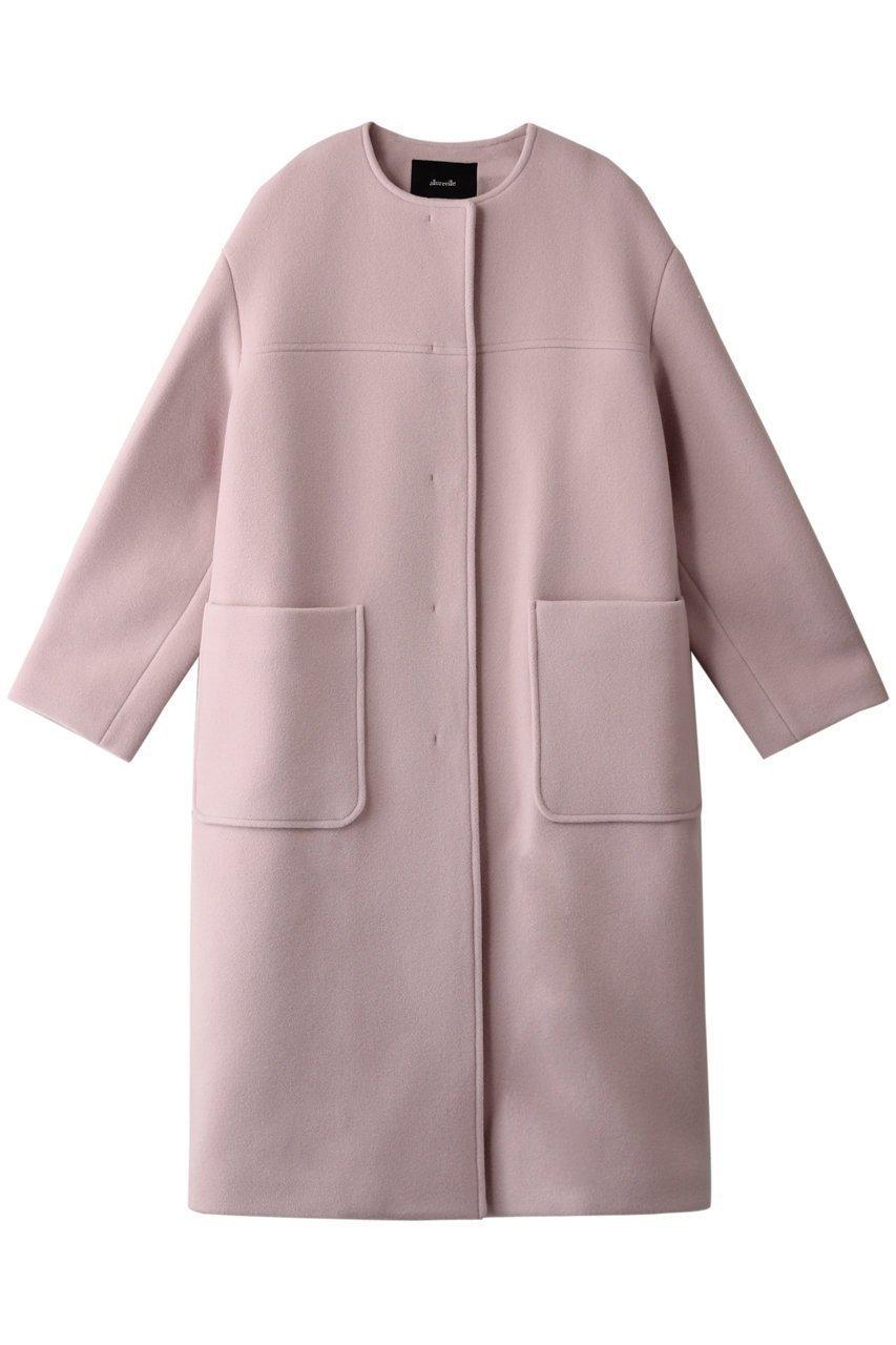 長く愛用したい、大人のためのシンプルコート  レディースファッション・服の通販 founy(ファニー) 【アルアバイル/allureville】 トレンドファッション・スタイル  Fashion trends ブランド Brand ファッション Fashion レディース WOMEN アウター Coat Outerwear コート Coats なめらか ショート シンプル 冬 Winter |ID:prp329100000932285