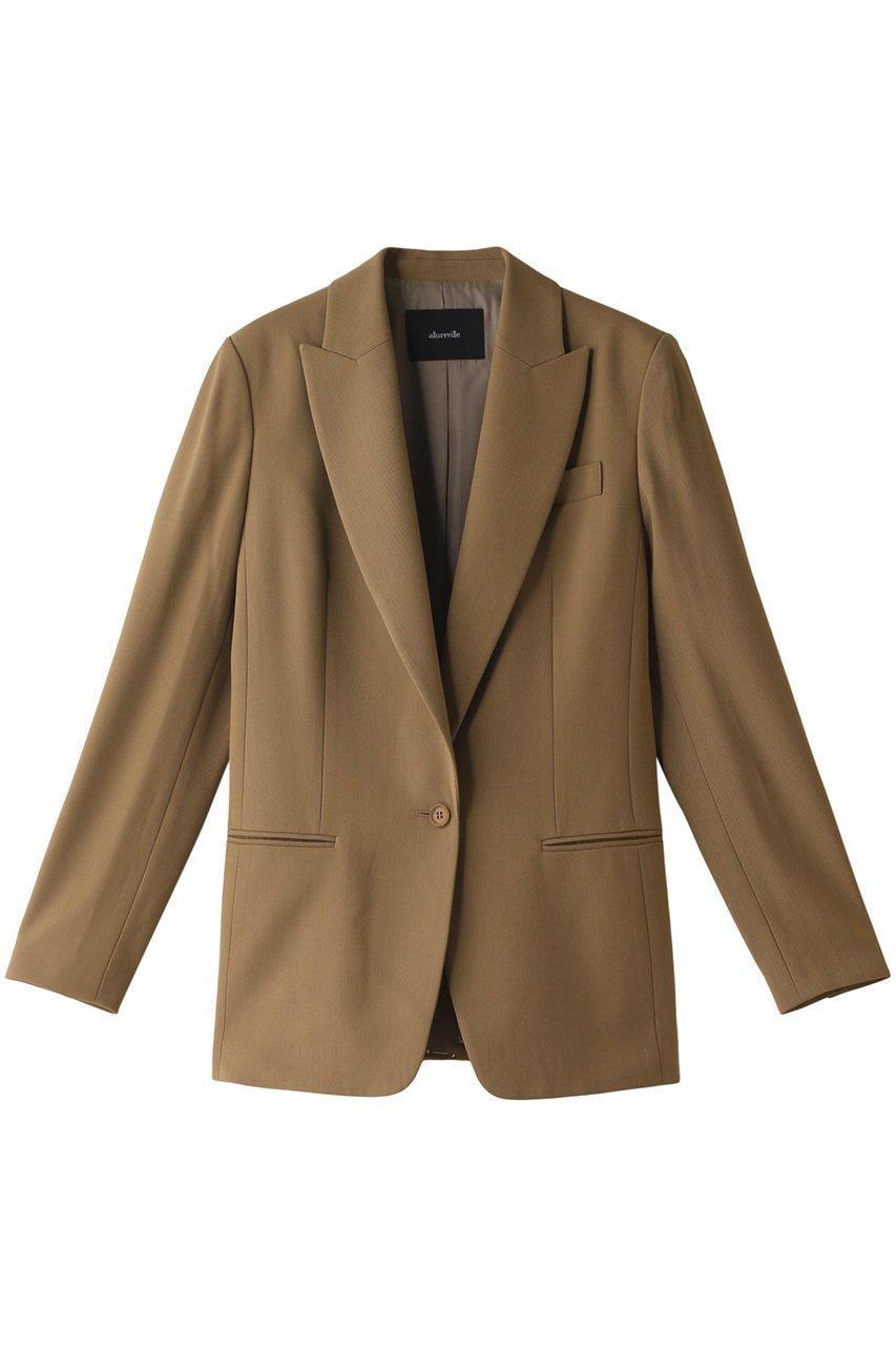 デイリーユースにぴったりの上品ジャケット  レディースファッション・服の通販 founy(ファニー) 【アルアバイル/allureville】 トレンドファッション・スタイル  Fashion trends ブランド Brand ファッション Fashion レディース WOMEN アウター Coat Outerwear ジャケット Jackets テーラードジャケット Tailored Jackets シンプル ジャケット セットアップ |ID:prp329100000026993