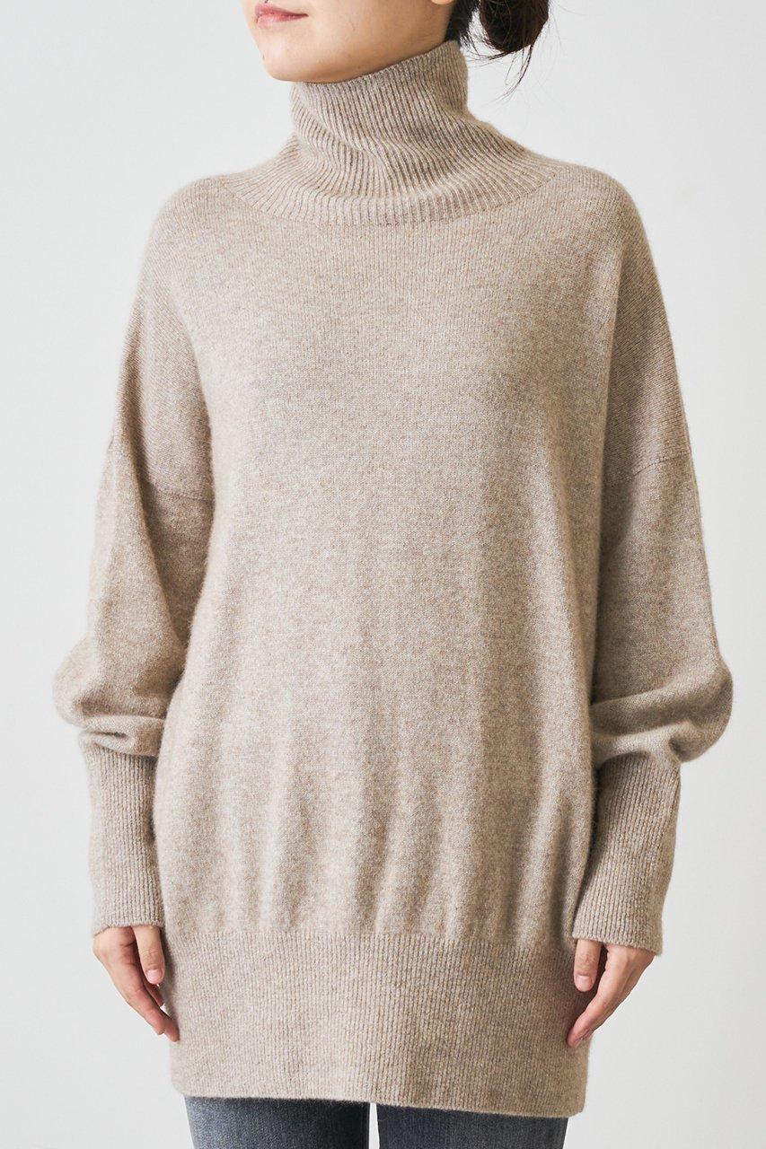 ホールガーメントで仕上げたニットプルオーバー  人気、トレンドファッション・服の通販 founy(ファニー) 【ウィムガゼット/Whim Gazette】 トレンドファッション・スタイル  Fashion trends ブランド Brand ファッション Fashion レディースファッション WOMEN トップス Tops Tshirt ニット Knit Tops プルオーバー Pullover タートルネック Turtleneck なめらか スリット タートルネック ホールガーメント |ID:prp329100000018988