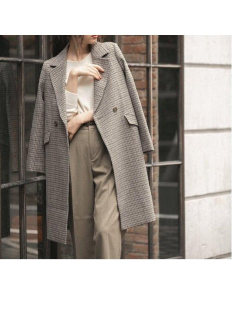 曲げ伸ばしがしやすい、ストレスフリーで快適なテーラーコート おすすめで人気のファッション通販商品 インテリア・家具・キッズファッション・メンズファッション・レディースファッション・服の通販 founy(ファニー) 【グローバルワーク/GLOBAL WORK】 トレンドファッション・スタイル  Fashion trends ブランド Brand ファッション Fashion レディースファッション WOMEN アウター Coat Outerwear コート Coats ジャケット Jackets ジャケット ストレッチ チェック トレンド ポケット ロング 冬 Winter  ID:prp329100000671586