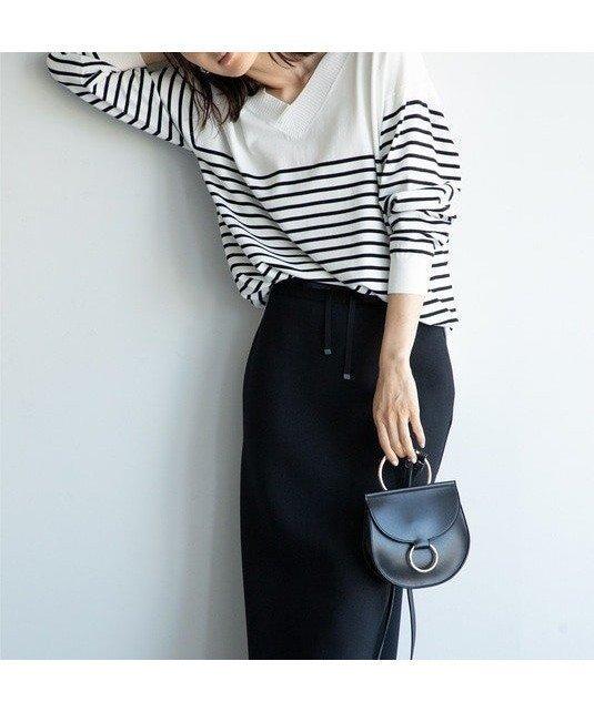 単品でセットアップで、自由自在なトレンドニット 人気、トレンドファッション・服の通販 founy(ファニー) 【自由区/JIYU-KU】 トレンドファッション・スタイル  Fashion trends トレンド Trends ファッション Fashion レディースファッション WOMEN トップス Tops Tshirt ニット Knit Tops プルオーバー Pullover Vネック V-Neck ストレッチ セットアップ トレンド ベーシック 人気 抗菌 |ID:prp329100000282255