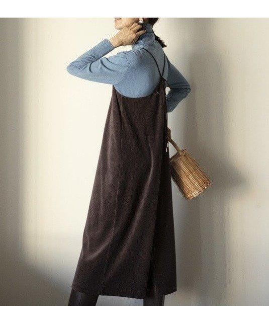 女性らしいムード漂うベロアワンピース 注目のキャミデザインで旬なコーディネートに 人気、トレンドファッション・服の通販 founy(ファニー) 【アイシービー/iCB】 トレンドファッション・スタイル  Fashion trends トレンド Trends ファッション Fashion レディースファッション WOMEN ワンピース Dress シルク シンプル ベロア 台形 |ID:prp329100000993122