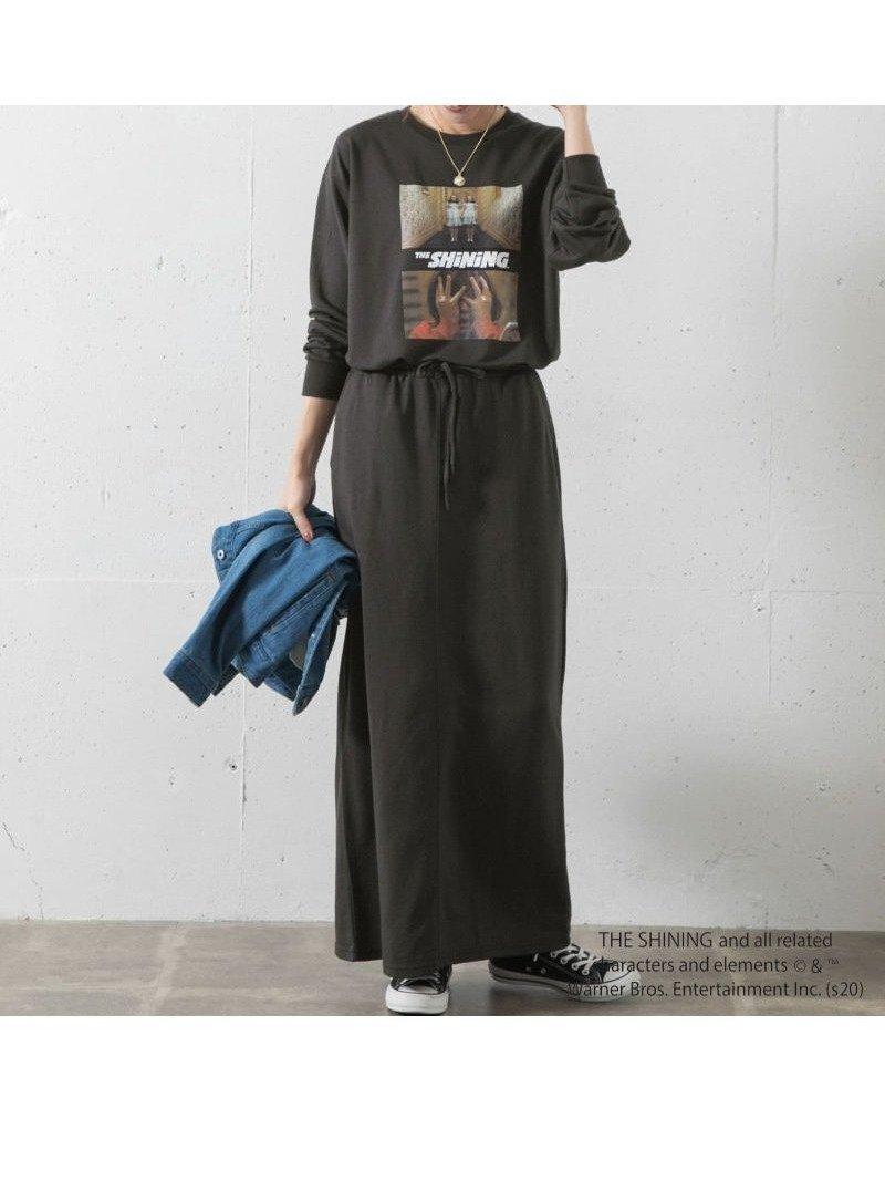 映画『TheSHiNiNG』のプリントがキャッチーなセットアップ おすすめで人気、流行・トレンド、ファッション通販商品 インテリア・家具・キッズファッション・メンズファッション・レディースファッション・服の通販 founy(ファニー) 【サニーレーベル/Sonny Label / URBAN RESEARCH】 トレンドファッション・スタイル  Fashion trends ブランド Brand ファッション Fashion レディースファッション WOMEN セットアップ Setup インナー スタンダード セットアップ プリント リボン |ID:prp329100000672470
