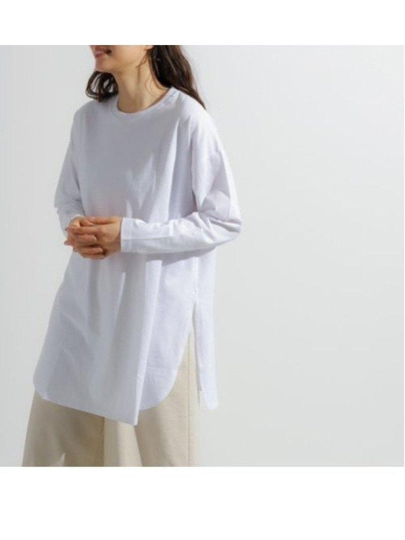 コットン100%の着心地の良いカットソー生地を使用したベーシックなプルオーバー 人気、トレンドファッション・服の通販 founy(ファニー) 【ニコアンド/niko and…】 トレンドファッション・スタイル  Fashion trends ブランド Brand ファッション Fashion レディースファッション WOMEN トップス Tops Tshirt シャツ/ブラウス Shirts Blouses ロング / Tシャツ T-Shirts カットソー Cut and Sewn カットソー トレンド バランス ヘムライン ベーシック ラウンド 再入荷 Restock/Back in Stock/Re Arrival 春 Spring |ID:prp329100000602433