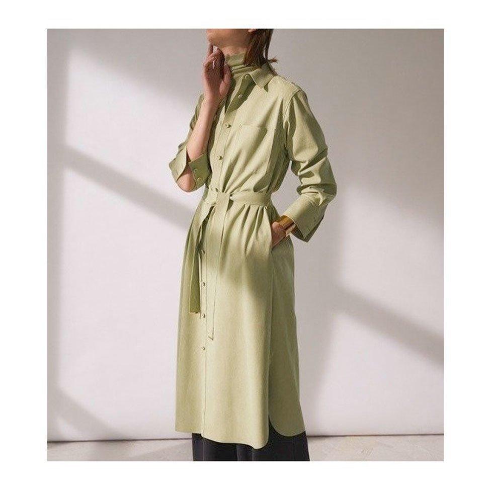 【BEIGE,】上質なフェイクスエードを使用した マルチに着回せるシャツドレスなど、おすすめ!注目の人気トレンドファッションアイテム  レディースファッション・服の通販 founy(ファニー) 【ベイジ,/BEIGE,】 トレンドファッション・スタイル  Fashion trends ブランド Brand ファッション Fashion レディースファッション WOMEN ワンピース Dress アウター Coat Outerwear コート Coats ジャケット Jackets トップス Tops Tshirt シャツ/ブラウス Shirts Blouses パンツ Pants スカート Skirt 春 Spring 今季 軽量 スリット ドレス ハイネック フェイクスエード ラウンド 2021年 2021 S/S 春夏 SS Spring/Summer 2021 春夏 S/S SS Spring/Summer 2021 送料無料 Free Shipping シンプル ジャケット |ID:stp329100000000058