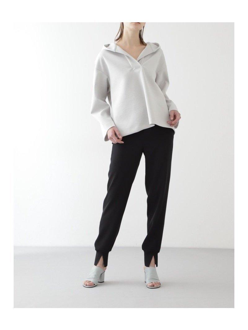 きれい目な素材と裾に使用したニットリブのパンツ レディースファッション・服の通販 founy(ファニー) 【ボッシュ/BOSCH】 トレンドファッション・スタイル  Fashion trends ブランド Brand ファッション Fashion レディースファッション WOMEN パンツ Pants NEW・新作・新着・新入荷 New Arrivals ジーンズ スタンダード  ID:prp329100001021134
