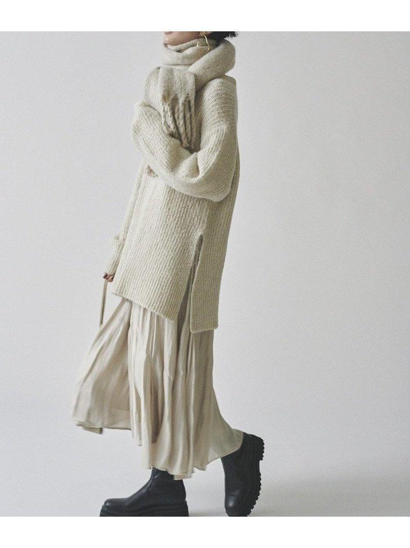 コーディネート不要のレディなセットアップ レディースファッション・服の通販 founy(ファニー) 【ミラオーウェン/Mila Owen】 トレンドファッション・スタイル  Fashion trends ブランド Brand ファッション Fashion レディースファッション WOMEN セットアップ Setup スカート Skirt スカート Skirt Aライン/フレアスカート Flared A-Line Skirts A/W 秋冬 AW Autumn/Winter / FW Fall-Winter カットソー グラデーション セットアップ フレア 畦  ID:prp329100000713485