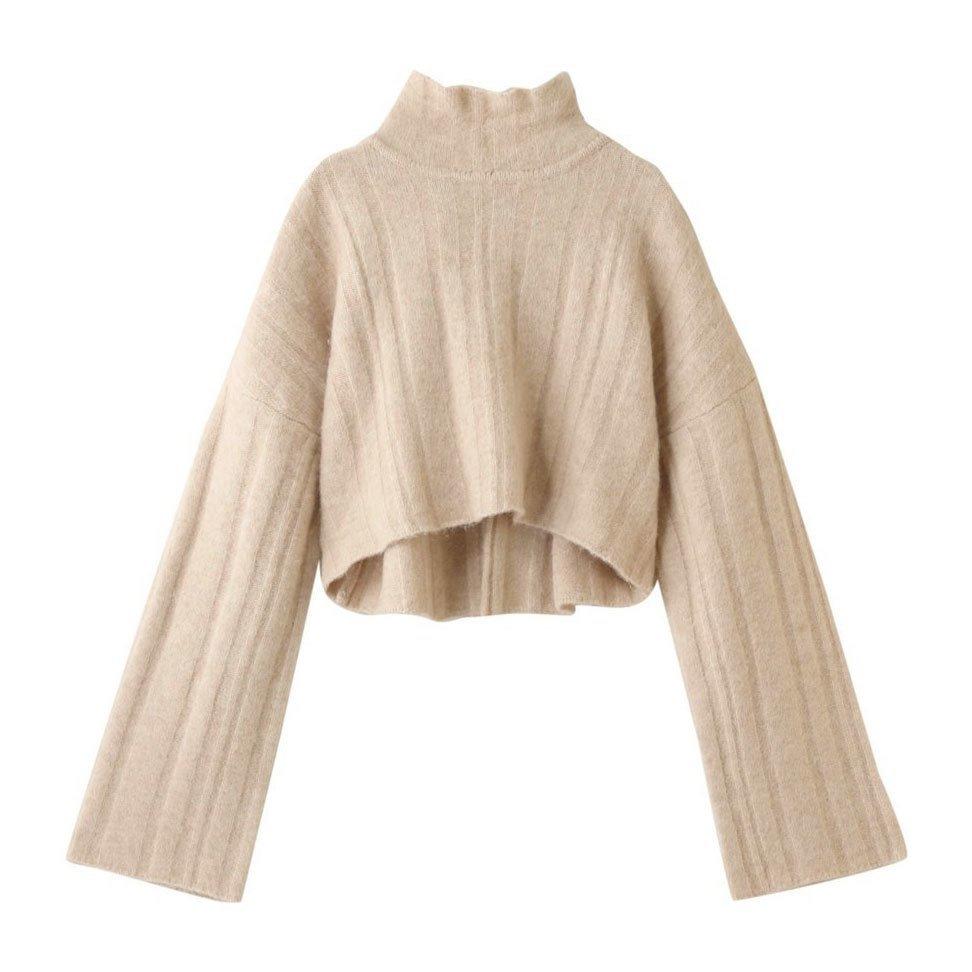 【LE CIEL BLEU】 バックスタイルがポイントのクロップド丈ハイネックニットなど、おすすめ!注目の人気トレンドファッションアイテム  レディースファッション・服の通販 founy(ファニー) 【ルシェル ブルー/LE CIEL BLEU】 トレンドファッション・スタイル  Fashion trends ブランド Brand ファッション Fashion レディースファッション WOMEN トップス Tops Tshirt ニット Knit Tops プルオーバー Pullover シャツ/ブラウス Shirts Blouses パーカ Sweats ロング / Tシャツ T-Shirts スウェット Sweat カットソー Cut and Sewn ワンピース Dress アウター Coat Outerwear コート Coats トレンチコート Trench Coats 2021年 2021 2021 春夏 S/S SS Spring/Summer 2021 S/S 春夏 SS Spring/Summer クロップド ショート ハイネック 春 Spring  ID:stp329100000000066