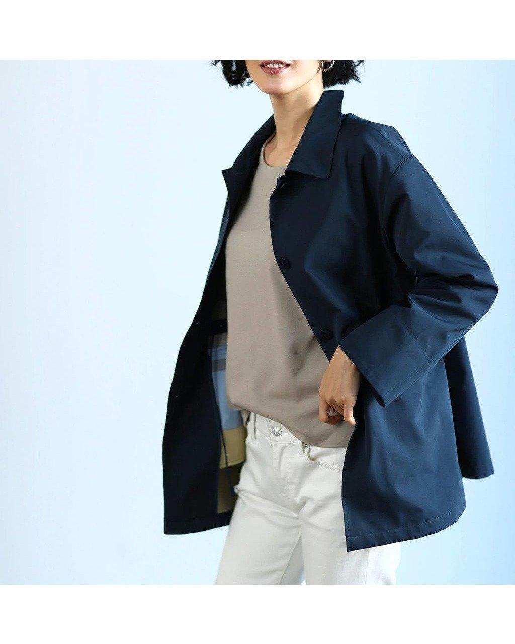 肌寒い時さっと羽織れるショートコート おすすめで人気、流行・トレンド、ファッション通販商品 インテリア・家具・キッズファッション・メンズファッション・レディースファッション・服の通販 founy(ファニー) 【ドゥクラッセ/DoCLASSE】 トレンドファッション・スタイル  Fashion trends ブランド Brand ファッション Fashion レディースファッション WOMEN アウター Coat Outerwear コート Coats ショート ダブル フェイス |ID:prp329100001143050
