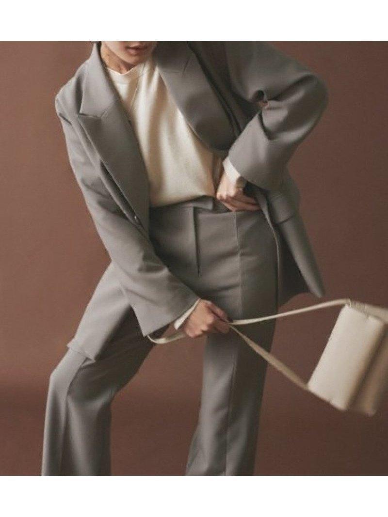 ビッグシルエットがこなれ感を演出するスーツジャケット おすすめで人気、流行・トレンド、ファッション通販商品 インテリア・家具・キッズファッション・メンズファッション・レディースファッション・服の通販 founy(ファニー) 【ミラオーウェン/Mila Owen】 トレンドファッション・スタイル  Fashion trends 雑誌 Magazine 雑誌掲載アイテム Magazine items ファッション雑誌 Fashion magazines ストーリィ STORY ヴェリィ VERY ファッション Fashion レディースファッション WOMEN アウター Coat Outerwear コート Coats ジャケット Jackets テーラードジャケット Tailored Jackets スーツ Suits スーツ ジャケット Jacket 1月号 2月号 おすすめ Recommend ジャケット スタンダード スーツ セットアップ ダブル デニム トレンド ビッグ マニッシュ ロング 雑誌 |ID:prp329100000585011