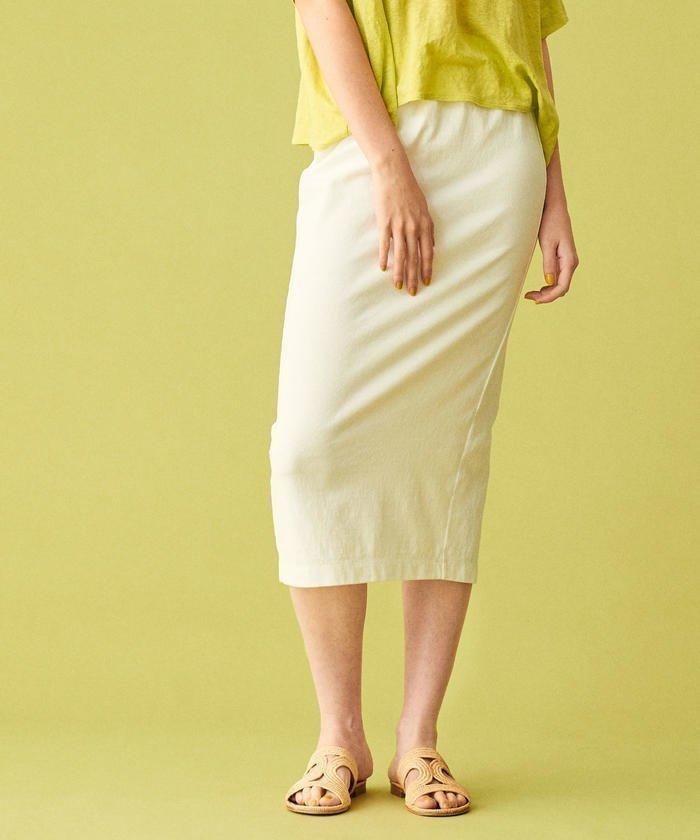 ほど良いフィット感のあるシルエットのタイトスカート おすすめで人気、流行・トレンド、ファッション通販商品 インテリア・家具・キッズファッション・メンズファッション・レディースファッション・服の通販 founy(ファニー) 【ギャルリー ヴィー/GALERIE VIE / TOMORROWLAND】 トレンドファッション・スタイル  Fashion trends ブランド Brand ファッション Fashion レディースファッション WOMEN スカート Skirt バッグ Bag シンプル ジャージー スリット タイトスカート バランス フィット |ID:prp329100000248014