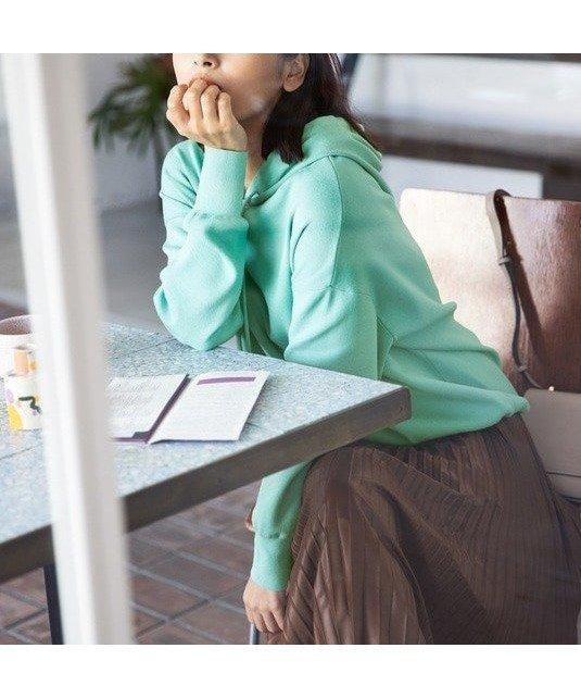 ゆったりとしたシルエットでリラックスした着心地を感じられる大人な雰囲気のニット素材のフーディー おすすめで人気、流行・トレンド、ファッション通販商品 インテリア・家具・キッズファッション・メンズファッション・レディースファッション・服の通販 founy(ファニー) 【組曲/KUMIKYOKU】 トレンドファッション・スタイル  Fashion trends ブランド Brand ファッションモデル・俳優・女優 Models 女性 Women 近藤千尋 Kondo Chihiro ファッション Fashion レディースファッション WOMEN トップス カットソー Tops Tshirt ニット Knit Tops パーカ Sweats プルオーバー Pullover 秋 Autumn/Fall コンパクト スウェット ストレッチ ベーシック ボトム リラックス A/W 秋冬 AW Autumn/Winter / FW Fall-Winter 2020年 2020 2020-2021 秋冬 A/W AW Autumn/Winter / FW Fall-Winter 2020-2021 送料無料 Free Shipping |ID:prp329100000276071
