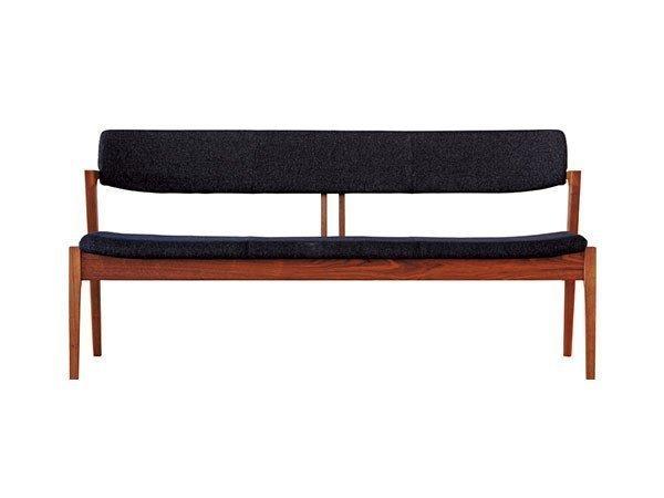 背面から見ても美しいデザインと、長く愛用できる堅牢性が特長の背付ベンチ 人気、トレンドファッション・服の通販 founy(ファニー) 【冨士ファニチア/FUJI FURNITURE / GOODS】 トレンドファッション・スタイル  Fashion Trends インテリア・デザイナーズ家具 Home,Interior,Designers,Furniture ホームグッズ Home/Garden 家具・インテリア Furniture チェア Chair ベンチ・ダイニングベンチ |ID:prp329100000003736