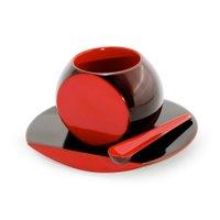 【川連漆器 / Kawatsura SHI-KI】ころんと可愛らしい形のコーヒーカップとソーサーのセットなど、おすすめで人気の漆器 人気、トレンドファッション・服の通販 founy(ファニー) 【川連漆器/Kawatsura SHI-KI / GOODS】 トレンドファッション・スタイル  Fashion Trends インテリア・デザイナーズ家具 Home,Interior,Designers,Furniture 送料無料 Free Shipping テーブル イタリア カラフル 無地 おすすめ Recommend 皿 グラス ストライプ タンブラー リバーシブル |ID:stp329100000000145