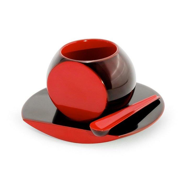 【川連漆器 / Kawatsura SHI-KI】ころんと可愛らしい形のコーヒーカップとソーサーのセットなど、おすすめで人気の漆器 レディースファッション・服の通販 founy(ファニー) 【川連漆器/Kawatsura SHI-KI / GOODS】 トレンドファッション・スタイル  Fashion Trends インテリア・デザイナーズ家具 Home,Interior,Designers,Furniture 送料無料 Free Shipping テーブル イタリア カラフル 無地 おすすめ Recommend 皿 グラス ストライプ タンブラー リバーシブル |ID:stp329100000000145