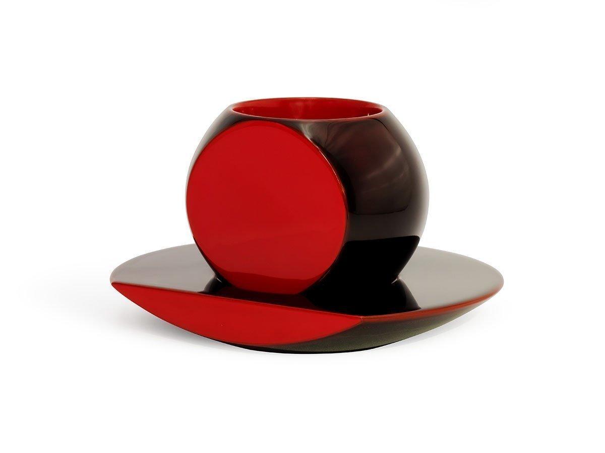 ころんと可愛らしい形のコーヒーカップとソーサーのセット レディースファッション・服の通販 founy(ファニー) 【川連漆器/Kawatsura SHI-KI / GOODS】 トレンドファッション・スタイル  Fashion Trends インテリア・デザイナーズ家具 Home,Interior,Designers,Furniture 送料無料 Free Shipping テーブル |ID:prp329100001236057