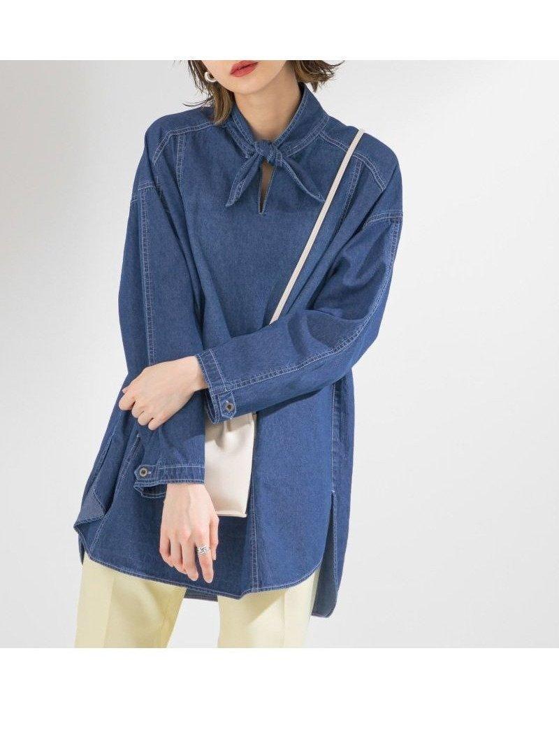 一枚でMIXスタイルが楽しめるデニムブラウス レディースファッション・服の通販 founy(ファニー) 【ケービーエフ/KBF / URBAN RESEARCH】 トレンドファッション・スタイル  Fashion Trends ブランド Brand ファッション Fashion レディースファッション WOMEN トップス・カットソー Tops/Tshirt シャツ/ブラウス Shirts/Blouses おすすめ Recommend セットアップ デニム ポケット  ID:prp329100001127069