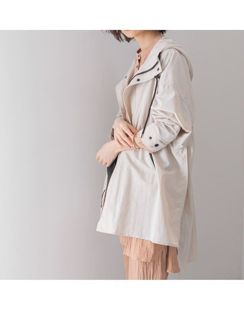 シンプルながらもエッジの効いたポンチョ型マウンテンパーカー レディースファッション・服の通販 founy(ファニー) 【ケービーエフ/KBF / URBAN RESEARCH】 トレンドファッション・スタイル  Fashion Trends ブランド Brand ファッション Fashion レディースファッション WOMEN アウター Coat Outerwear コート Coats ジャケット Jackets おすすめ Recommend アウトドア シンプル ジャケット スリット トレンド パーカー ポンチョ ミックス 定番 Standard  ID:prp329100001007058