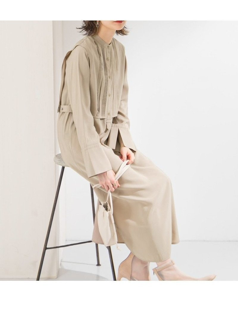 大好評!1枚着でコーデが完成するレイヤードワンピース レディースファッション・服の通販 founy(ファニー) 【ケービーエフ/KBF / URBAN RESEARCH】 トレンドファッション・スタイル  Fashion Trends ブランド Brand ファッション Fashion レディースファッション WOMEN ワンピース Dress ドレス ポケット 春 Spring  ID:prp329100001126883