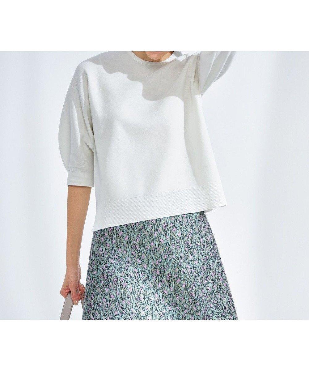 毎年ご好評のプルオーバーに、今年のトレンドをプラス! 人気、トレンドファッション・服の通販 founy(ファニー) 【自由区/JIYU-KU】 トレンドファッション・スタイル  Fashion Trends ブランド Brand ファッション Fashion レディースファッション WOMEN トップス・カットソー Tops/Tshirt ニット Knit Tops 送料無料 Free Shipping エレガント セーター トレンド フォルム ボトム ミラノリブ 洗える |ID:prp329100001203547