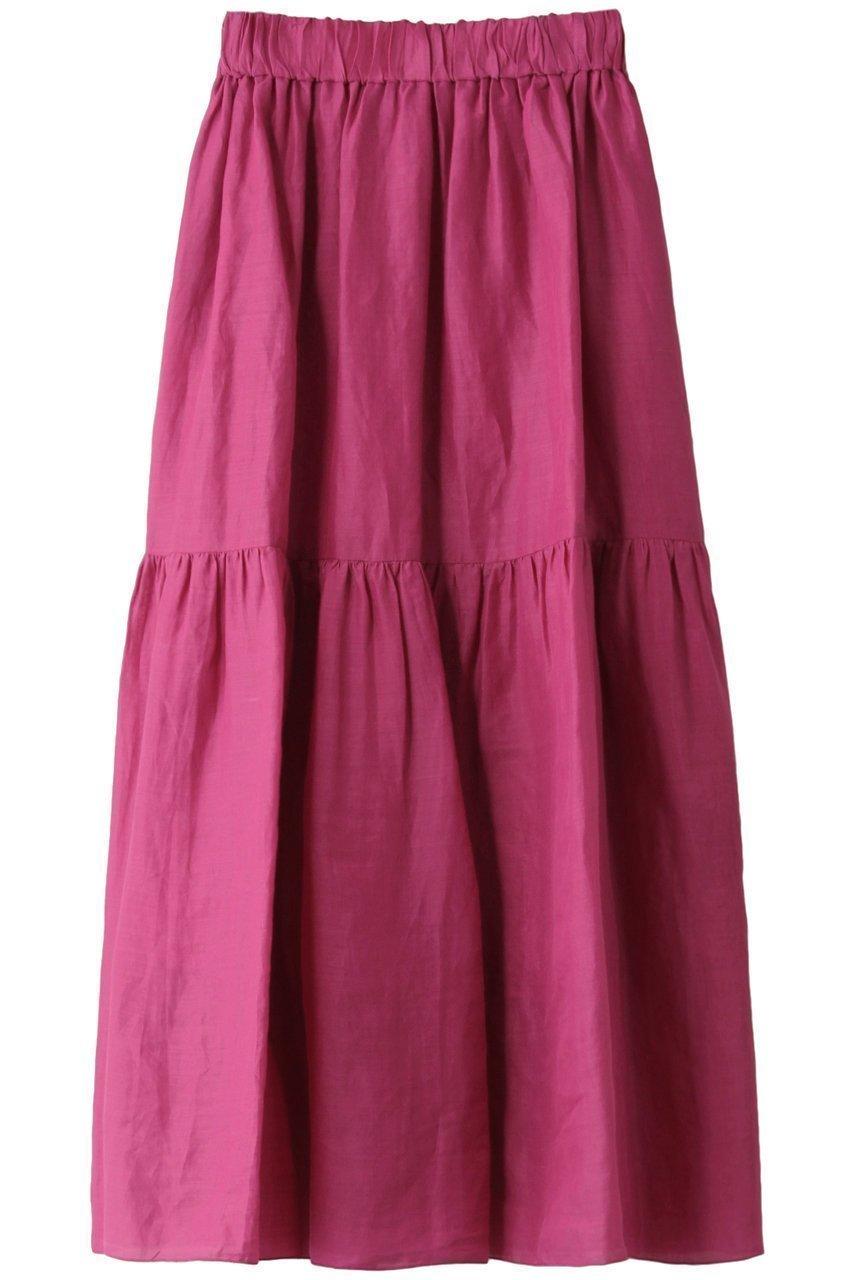 大人女性にマッチするティアードスカート 人気、トレンドファッション・服の通販 founy(ファニー) 【サクラ/SACRA】 トレンドファッション・スタイル  Fashion Trends ブランド Brand ファッション Fashion レディースファッション WOMEN スカート Skirt ティアードスカート Tiered Skirts ロングスカート Long Skirt ティアードスカート フェミニン ロング |ID:prp329100001292631