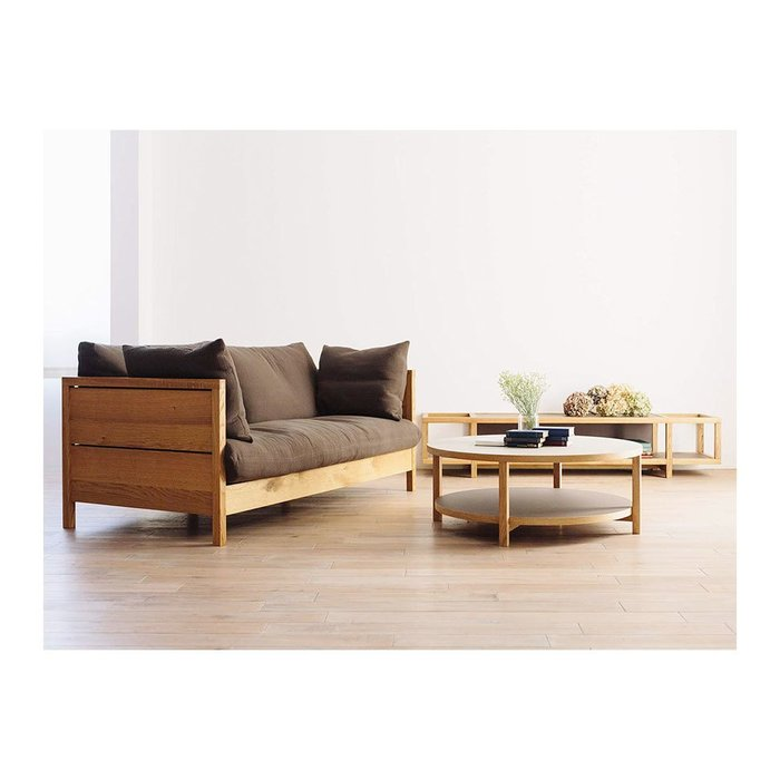 【お家時間】【広松木工 / Hiromatsu Furniture】家具の輪郭を描き出したようにシンプルな構造の円形テーブルなど、日本製のおすすめで人気のインテリア・家具 人気、トレンドファッション・服の通販 founy(ファニー) 【広松木工/Hiromatsu Furniture / GOODS】 トレンドファッション・スタイル  Fashion Trends インテリア・デザイナーズ家具 Home,Interior,Designers,Furniture オイル 抗菌 シンプル センター テーブル フレーム フラット おすすめ Recommend クッション スリット ポケット ラバー ヴィンテージ ファブリック ブロック リラックス ホームグッズ Home/Garden 家具・インテリア Furniture テーブル Table ローテーブル・センターテーブル ホームグッズ Home/Garden 家具・インテリア Furniture テーブル Table ダイニングテーブル |ID:stp329100000000164