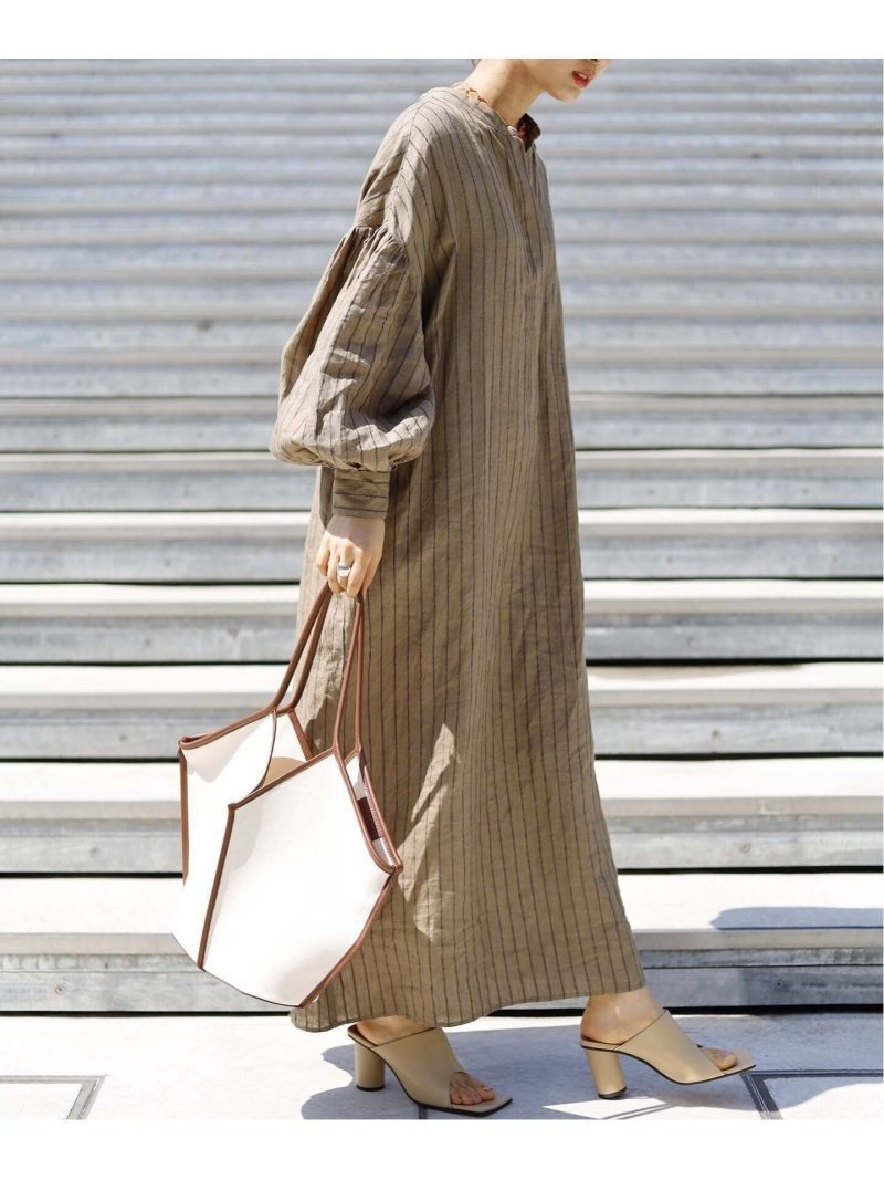 気分高まる麻ワンピース 人気、トレンドファッション・服の通販 founy(ファニー) 【ジャーナルスタンダード レサージュ/journal standard L'essage】 トレンドファッション・スタイル  Fashion Trends ブランド Brand ファッション Fashion レディースファッション WOMEN ワンピース Dress 2021年 2021 2021春夏・S/S SS/Spring/Summer/2021 S/S・春夏 SS・Spring/Summer |ID:prp329100001497192