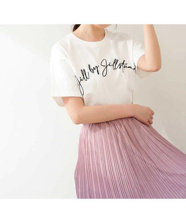 大人っぽい雰囲気のビッグロゴTシャツ 人気、トレンドファッション・服の通販 founy(ファニー) 【ジルバイジルスチュアート/JILL by JILLSTUART】 トレンドファッション・スタイル  Fashion Trends ブランド Brand ファッション Fashion レディースファッション WOMEN トップス・カットソー Tops/Tshirt シャツ/ブラウス Shirts/Blouses ロング / Tシャツ T-Shirts ビッグ フェミニン プリント |ID:prp329100001360565