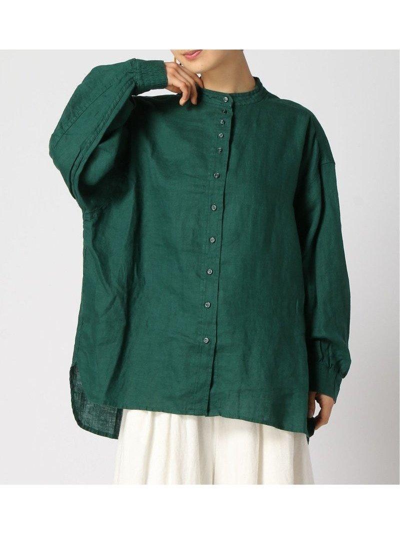 上品な光沢感としなやかで柔らかなフレンチリネンを使用したビッグシルエットのシャツ おすすめで人気、流行・トレンド、ファッション通販商品 インテリア・家具・キッズファッション・メンズファッション・レディースファッション・服の通販 founy(ファニー) 【スタディオ クリップ/studio CLIP】 トレンドファッション・スタイル  Fashion Trends ブランド Brand ファッション Fashion レディースファッション WOMEN トップス・カットソー Tops/Tshirt シャツ/ブラウス Shirts/Blouses NEW・新作・新着・新入荷 New Arrivals おすすめ Recommend ビッグ フレンチ ボトム リネン 羽織 長袖  ID:prp329100001535134