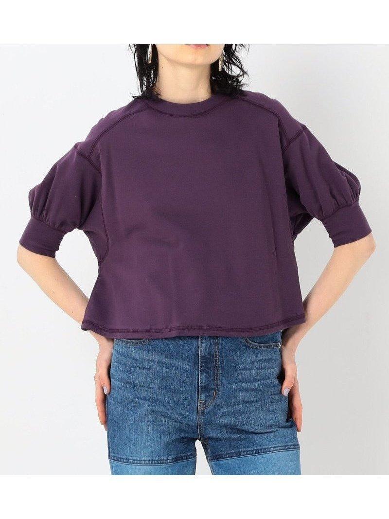 さらりと着用するだけでさまになり、夏のカジュアルスタイルで活躍してくれる万能なプルオーバー おすすめで人気、流行・トレンド、ファッション通販商品 インテリア・家具・キッズファッション・メンズファッション・レディースファッション・服の通販 founy(ファニー) 【トゥモローランド マカフィー/TOMORROWLAND MACPHEE】 トレンドファッション・スタイル  Fashion Trends ブランド Brand ファッション Fashion レディースファッション WOMEN トップス・カットソー Tops/Tshirt プルオーバー Pullover カットソー Cut and Sewn ボリュームスリーブ / フリル袖 Volume Sleeve 2021年 2021 2021春夏・S/S SS/Spring/Summer/2021 S/S・春夏 SS・Spring/Summer おすすめ Recommend カットソー ギャザー コンパクト シンプル ジャージー スリーブ デニム |ID:prp329100001393615