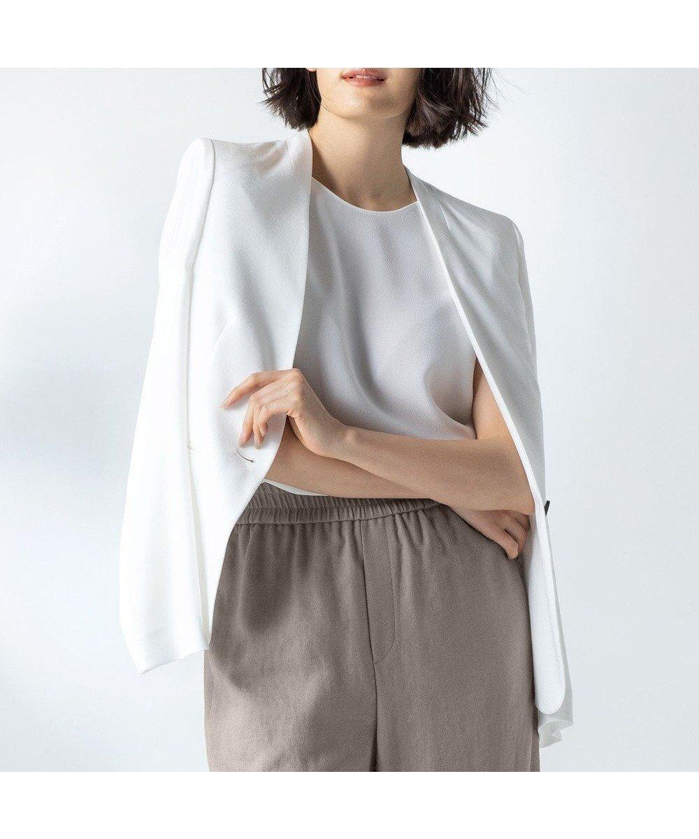夏に嬉しい機能性を併せ持った、美しいシルエットに定評のあるリネン調ノーカラージャケット おすすめで人気、流行・トレンド、ファッション通販商品 インテリア・家具・キッズファッション・メンズファッション・レディースファッション・服の通販 founy(ファニー) 【ベイジ,/BEIGE,】 トレンドファッション・スタイル  Fashion Trends ブランド Brand ファッション Fashion レディースファッション WOMEN アウター Coat Outerwear ジャケット Jackets ノーカラージャケット No Collar Leather Jackets 送料無料 Free Shipping S/S・春夏 SS・Spring/Summer ジャケット リネン  ID:prp329100000264942