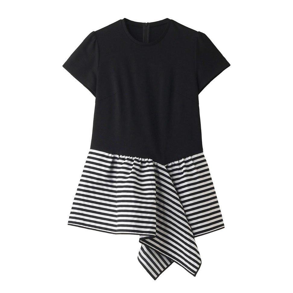【ボーダーズ アット バルコニー / BORDERS at BALCONY】夏のお出かけコーデの本命に選びたいTシャツなど、おすすめ!注目の人気トレンドファッションアイテム おすすめで人気の流行・トレンド、ファッションの通販商品 インテリア・家具・メンズファッション・キッズファッション・レディースファッション・服の通販 founy(ファニー) https://founy.com/ 【ボーダーズ アット バルコニー/BORDERS at BALCONY】 【ボーダーズ アット バルコニー/BORDERS at BALCONY / GOODS】 トレンドファッション・スタイル  Fashion Trends ブランド Brand ファッション Fashion レディースファッション WOMEN トップス・カットソー Tops/Tshirt シャツ/ブラウス Shirts/Blouses ロング / Tシャツ T-Shirts カットソー Cut and Sewn ワンピース Dress ドレス Party Dresses バッグ Bag アシメトリー アシンメトリー ショート スリーブ ペプラム ボーダー レギンス 再入荷 Restock/Back in Stock/Re Arrival 無地 シェイプ ツイル バルーン ロング フォルム ボトム S/S・春夏 SS・Spring/Summer ドレス フェミニン レース |ID:stp329100000000195
