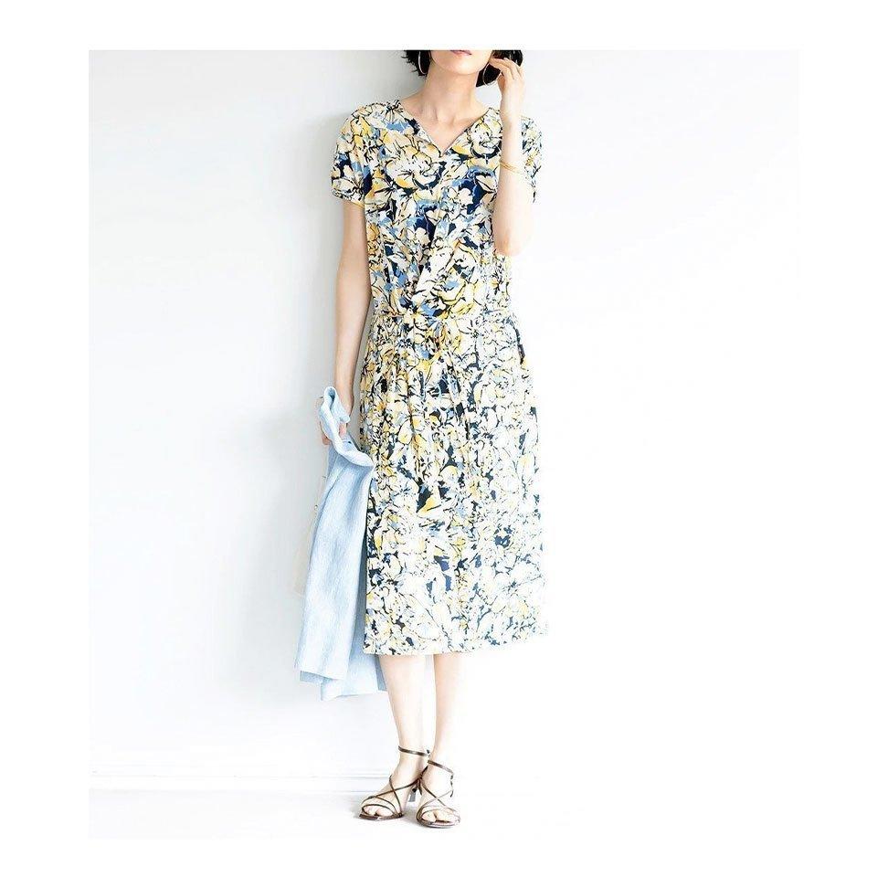 【ドゥクラッセ / DoCLASSE】夏も快適なUVスラブシリーズ 40代、50代の女性におすすめ!注目の人気トレンドファッションアイテム おすすめで人気の流行・トレンド、ファッションの通販商品 インテリア・家具・メンズファッション・キッズファッション・レディースファッション・服の通販 founy(ファニー) https://founy.com/ 【ドゥクラッセ/DoCLASSE】 トレンドファッション・スタイル  Fashion Trends ブランド Brand ファッション Fashion レディースファッション WOMEN ワンピース Dress トップス・カットソー Tops/Tshirt プルオーバー Pullover Vネック V-Neck 夏 Summer なめらか ストレッチ 洗える シンプル フレンチ 楽ちん ギャザー スリーブ フレア スタンド ドレープ フロント S/S・春夏 SS・Spring/Summer お家時間・ステイホーム Home Time/Stay Home カットソー フィット ワイド 定番 Standard 春 Spring |ID:stp329100000000199