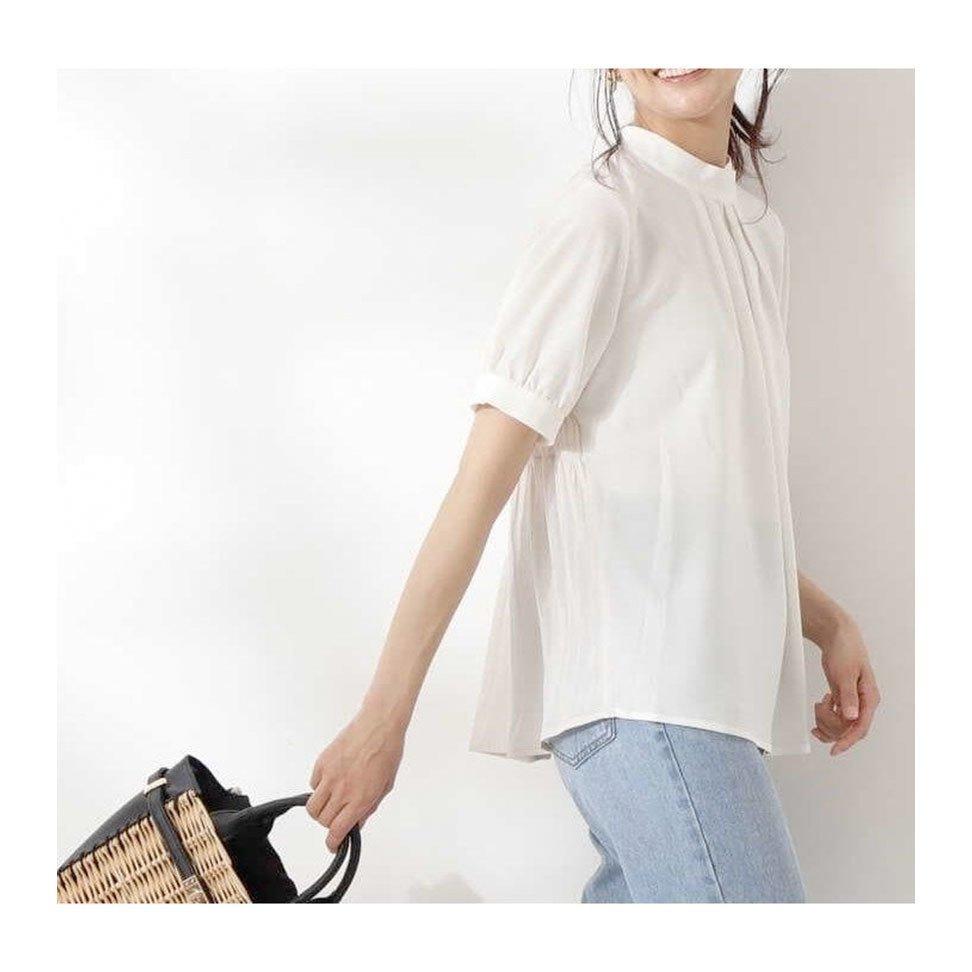 【エヌ ナチュラルビューティーベーシック / N】1枚で華やかな印象で着られるパフスリーブブラウスなど、おすすめ!注目の人気トレンドファッションアイテム おすすめで人気の流行・トレンド、ファッションの通販商品 インテリア・家具・メンズファッション・キッズファッション・レディースファッション・服の通販 founy(ファニー) https://founy.com/ 【エヌ ナチュラルビューティーベーシック/N.Natural Beauty basic】 トレンドファッション・スタイル  Fashion Trends ブランド Brand ファッション Fashion レディースファッション WOMEN トップス・カットソー Tops/Tshirt シャツ/ブラウス Shirts/Blouses キャミソール / ノースリーブ No Sleeves ニット Knit Tops ワンピース Dress スカート Skirt おすすめ Recommend インナー ギャザー フェミニン フリル ボトム 再入荷 Restock/Back in Stock/Re Arrival スタンド シンプル スリーブ ボトルネック サンダル シャーリング ショルダー スニーカー カットソー ケミカル スカラップ ストレート レース |ID:stp329100000000309
