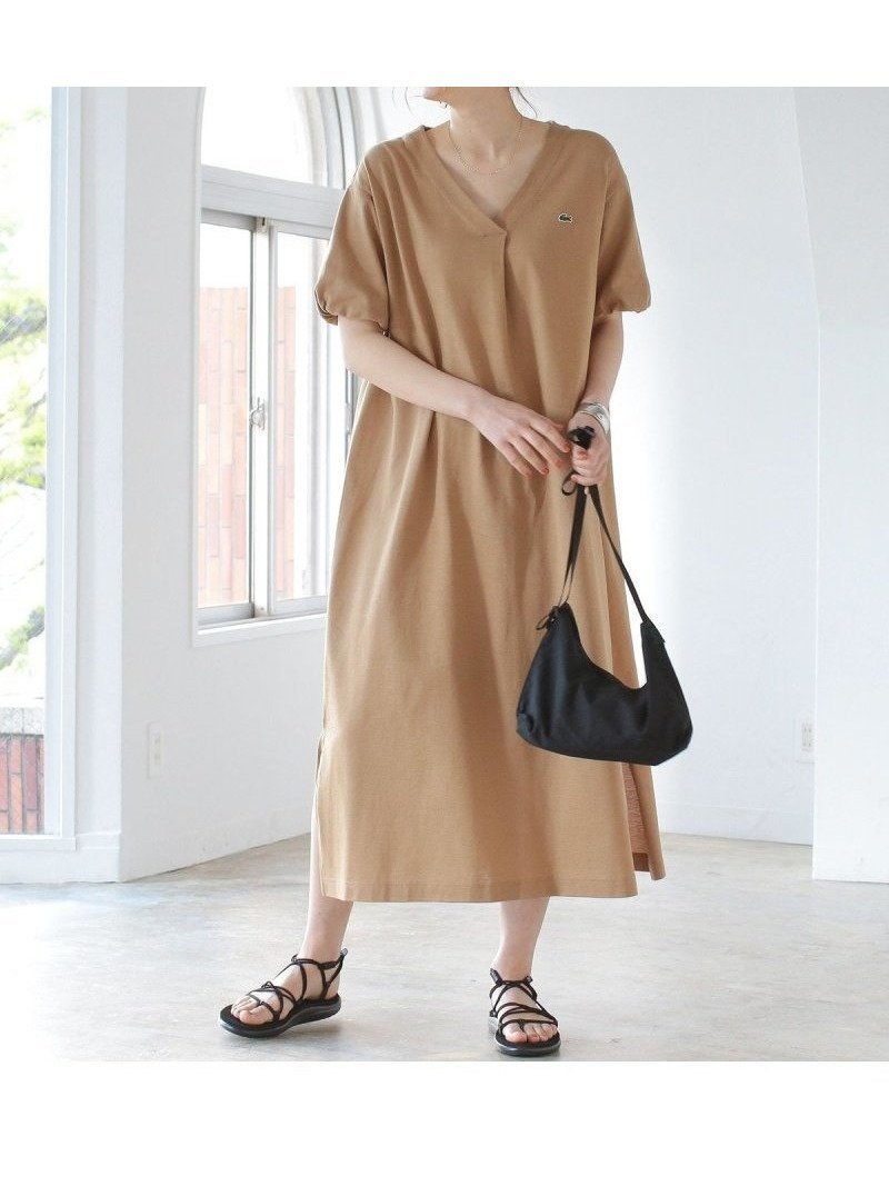 大人気<LACOSTE(ラコステ)>とのコラボシリーズにデザイン別注したワンピース おすすめで人気、流行・トレンド、ファッション通販商品 インテリア・家具・キッズファッション・メンズファッション・レディースファッション・服の通販 founy(ファニー) 【ビーミング by ビームス/B:MING by BEAMS】 トレンドファッション・スタイル  Fashion Trends ブランド Brand ファッション Fashion レディースファッション WOMEN ワンピース Dress シャツワンピース Shirt Dresses くるぶし ギャザー クール サマー サンダル スペシャル スポーツ スポーティ スリット スリーブ デコルテ 定番 Standard 人気 フラット フランス ポロシャツ 別注 マキシ リラックス ロング 2021年 2021 再入荷 Restock/Back in Stock/Re Arrival S/S・春夏 SS・Spring/Summer 2021春夏・S/S SS/Spring/Summer/2021 |ID:prp329100001175899