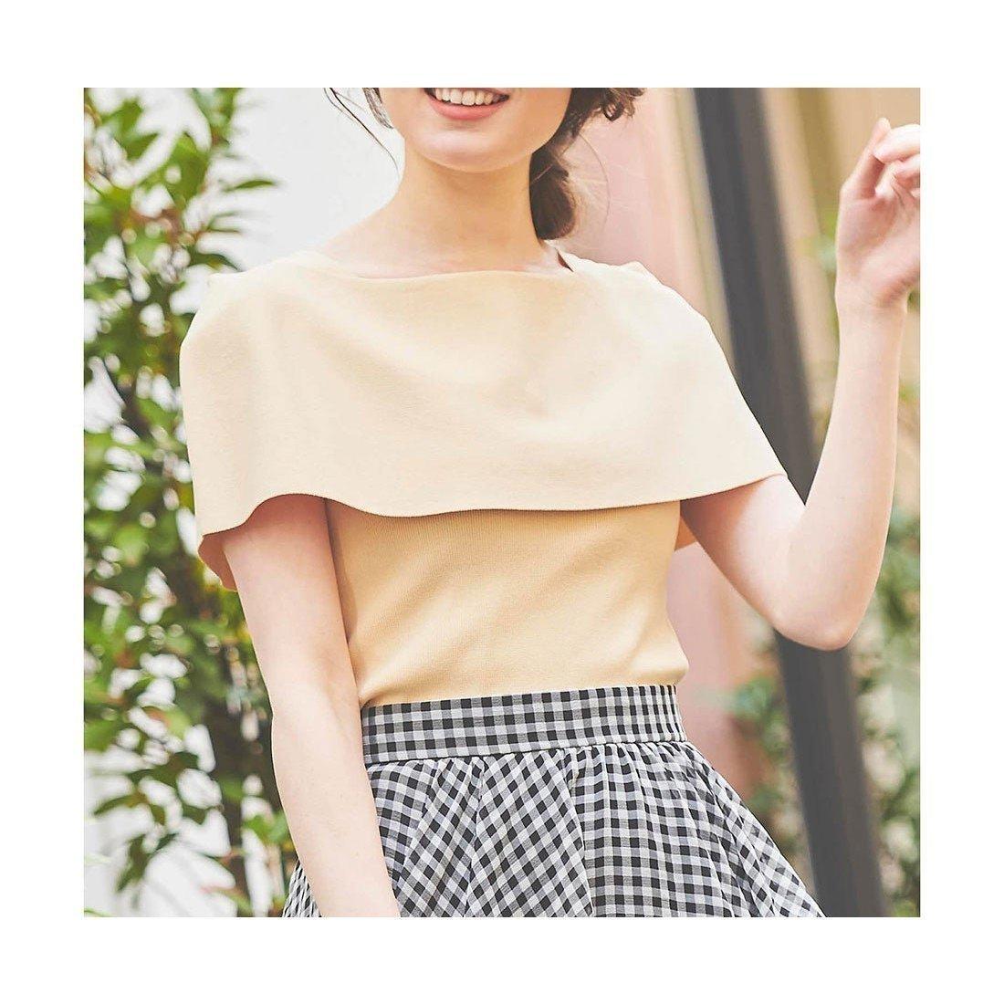 大きなバーサカラーがポイントのサマーニット おすすめで人気、流行・トレンド、ファッション通販商品 インテリア・家具・キッズファッション・メンズファッション・レディースファッション・服の通販 founy(ファニー) 【ノエラ/Noela】 トレンドファッション・スタイル  Fashion Trends ブランド Brand ファッション Fashion レディースファッション WOMEN トップス・カットソー Tops/Tshirt ニット Knit Tops 2021年 2021 2021春夏・S/S SS/Spring/Summer/2021 S/S・春夏 SS・Spring/Summer サマー ベーシック ボトム 夏 Summer 春 Spring |ID:prp329100001370173