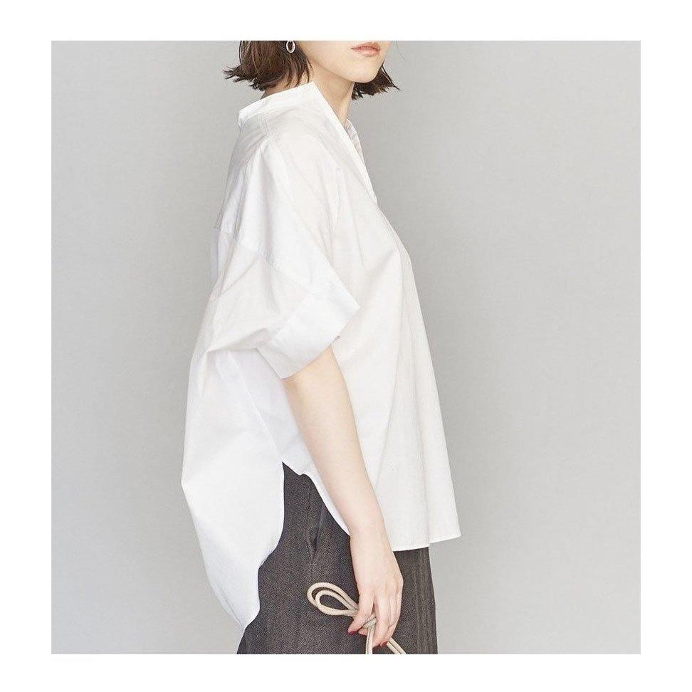 【ビューティ&ユース / BEAUTY&YOUTH / UNITED ARROWS】身頃続きのたっぷりとしたショルダーラインが特徴のスキッパーブラウスなど、おすすめ!注目の人気トレンドファッションアイテム おすすめで人気の流行・トレンド、ファッションの通販商品 インテリア・家具・メンズファッション・キッズファッション・レディースファッション・服の通販 founy(ファニー) https://founy.com/ 【ビューティ&ユース ユナイテッドアローズ/BEAUTY&YOUTH / UNITED ARROWS】 トレンドファッション・スタイル  Fashion Trends ブランド Brand ファッション Fashion レディースファッション WOMEN トップス・カットソー Tops/Tshirt シャツ/ブラウス Shirts/Blouses Vネック V-Neck ワンピース Dress オールインワン ワンピース All In One Dress パンツ Pants デニムパンツ Denim Pants スカート Skirt Aライン/フレアスカート Flared A-Line Skirts おすすめ Recommend ショルダー スキッパー スリット トレンド ボトム リラックス ルーズ ワイド 半袖 インナー カットソー キャミソール シンプル フリル ヴィンテージ ジーンズ  ID:stp329100000000346