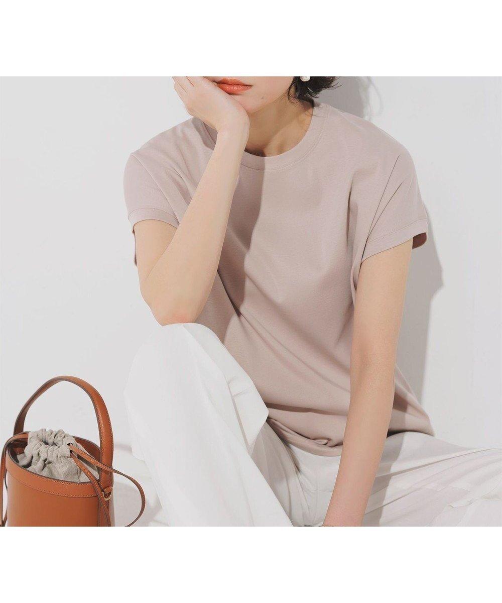 二の腕ほっそり見えを叶える、優秀フレンチ スリーブのイットTシャツ おすすめで人気、流行・トレンド、ファッション通販商品 インテリア・家具・キッズファッション・メンズファッション・レディースファッション・服の通販 founy(ファニー) 【23区/NIJYUSANKU】 トレンドファッション・スタイル  Fashion Trends ブランド Brand ファッション Fashion レディースファッション WOMEN トップス・カットソー Tops/Tshirt シャツ/ブラウス Shirts/Blouses ロング / Tシャツ T-Shirts カットソー Cut and Sewn カットソー 抗菌 ジャケット スタイリッシュ ストレッチ スリーブ ドレープ フィット フレンチ ブラウジング 半袖 ロング 2021年 2021 S/S・春夏 SS・Spring/Summer 2021春夏・S/S SS/Spring/Summer/2021 送料無料 Free Shipping 夏 Summer |ID:prp329100001477984