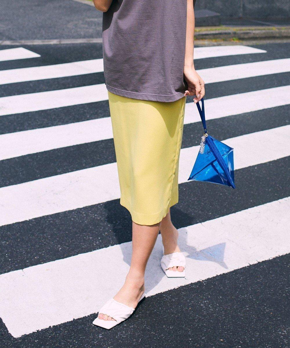 リッチな表情でも嬉しいイージーケア!オンオフ着回し優秀なドロストスカート おすすめで人気、流行・トレンド、ファッション通販商品 インテリア・家具・キッズファッション・メンズファッション・レディースファッション・服の通販 founy(ファニー) 【アイシービー/iCB】 トレンドファッション・スタイル  Fashion Trends ブランド Brand ファッション Fashion レディースファッション WOMEN スカート Skirt イエロー 洗える サテン スタイリッシュ セットアップ 雑誌 なめらか リラックス 2021年 2021 S/S・春夏 SS・Spring/Summer 2021春夏・S/S SS/Spring/Summer/2021 送料無料 Free Shipping  ID:prp329100001576500