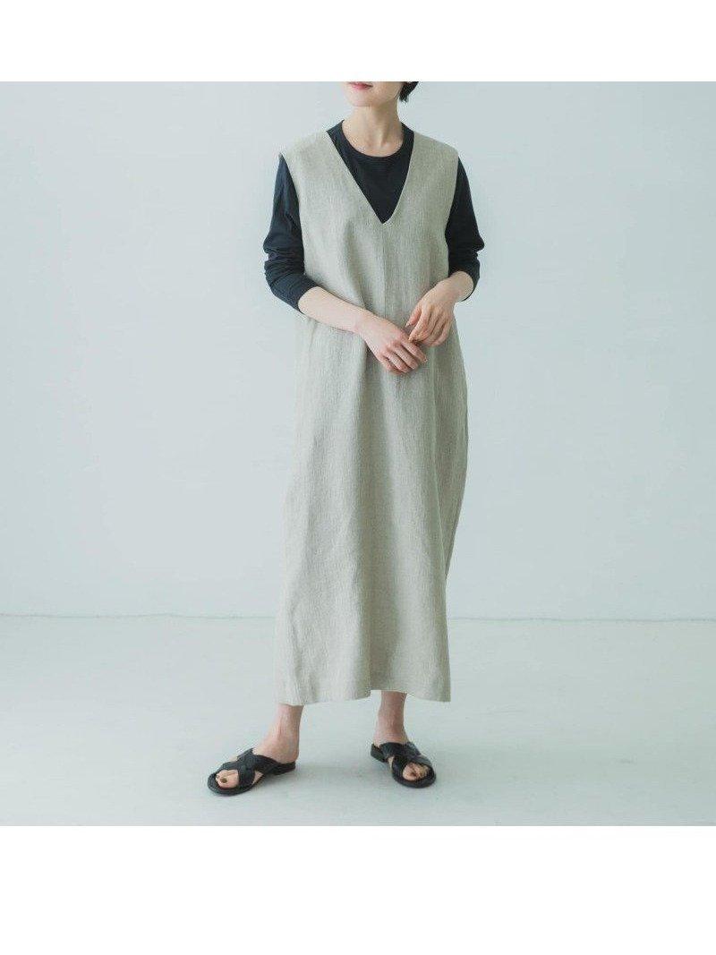 程よい厚みのリネン100%の生地が涼しく、体の線を拾わないボックスシルエットのワンピース おすすめで人気、流行・トレンド、ファッション通販商品 インテリア・家具・キッズファッション・メンズファッション・レディースファッション・服の通販 founy(ファニー) 【かぐれ/kagure / URBAN RESEARCH】 トレンドファッション・スタイル  Fashion Trends ブランド Brand ファッション Fashion レディースファッション WOMEN ワンピース Dress NEW・新作・新着・新入荷 New Arrivals 再入荷 Restock/Back in Stock/Re Arrival |ID:prp329100001302854