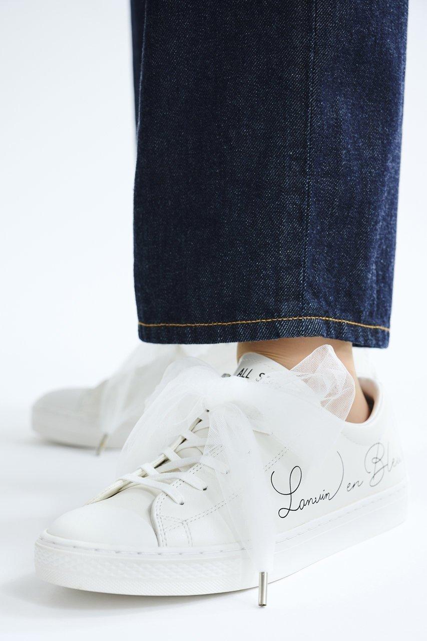 「ALL STER COUPE」をベースにランバン オン ブルーのロゴをあしらった別注スニーカー おすすめで人気、流行・トレンド、ファッション通販商品 インテリア・家具・キッズファッション・メンズファッション・レディースファッション・服の通販 founy(ファニー) 【ランバン オン ブルー/LANVIN en Bleu】 トレンドファッション・スタイル  Fashion Trends ブランド Brand ファッション Fashion レディースファッション WOMEN スニーカー 別注 |ID:prp329100001720852