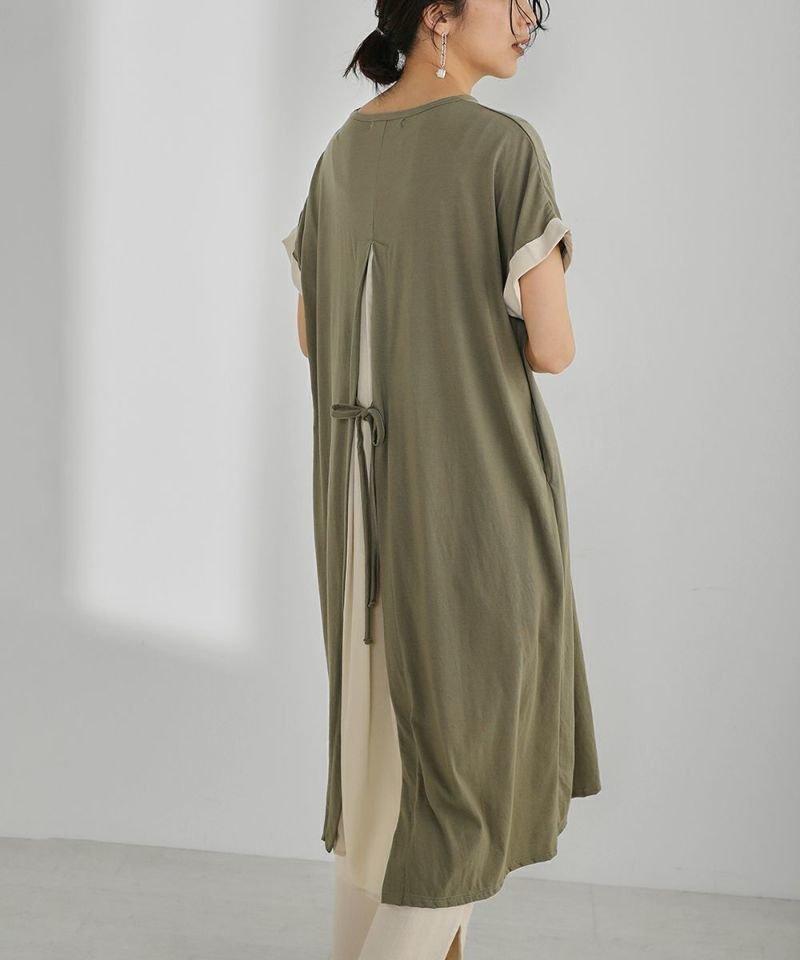 レイヤードコーデに最適のワンピース 人気、トレンドファッション・服の通販 founy(ファニー) 【ブージュルード/Bou Jeloud】 トレンドファッション・スタイル  Fashion Trends ブランド Brand ファッション Fashion レディースファッション WOMEN ワンピース Dress おすすめ Recommend インナー カットソー デニム プチプライス・低価格 Affordable ミュール リラックス レギンス |ID:prp329100001709805