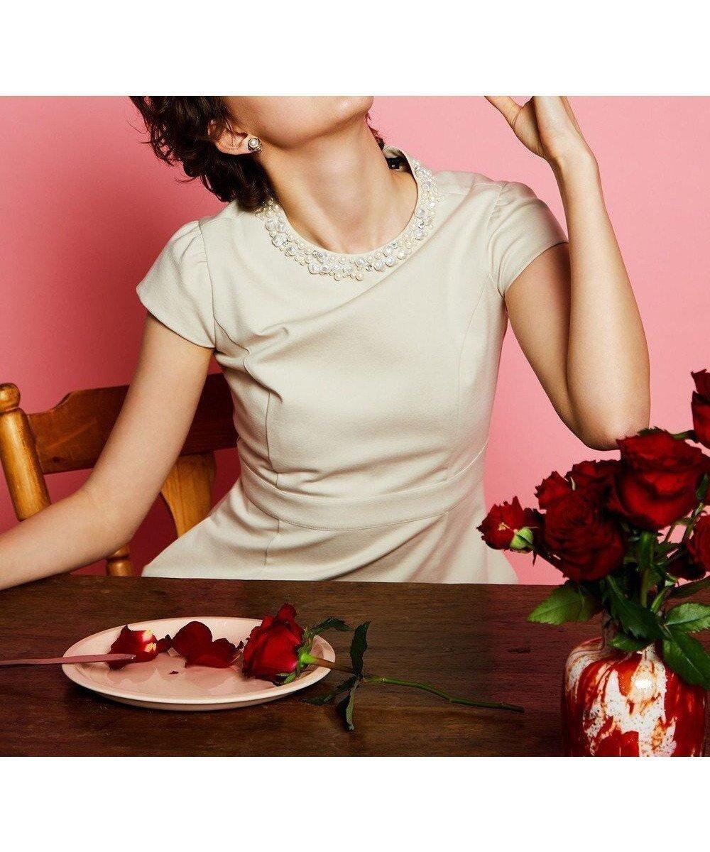 シンプルでシルエットにこだわったフィット&フレアのラインのドレス 人気、トレンドファッション・服の通販 founy(ファニー) 【トッカ/TOCCA】 トレンドファッション・スタイル  Fashion Trends ブランド Brand ファッション Fashion レディースファッション WOMEN ワンピース Dress ドレス Party Dresses 送料無料 Free Shipping 2021年 2021 2021春夏・S/S SS/Spring/Summer/2021 ドレス 夏 Summer 洗える |ID:prp329100001687786