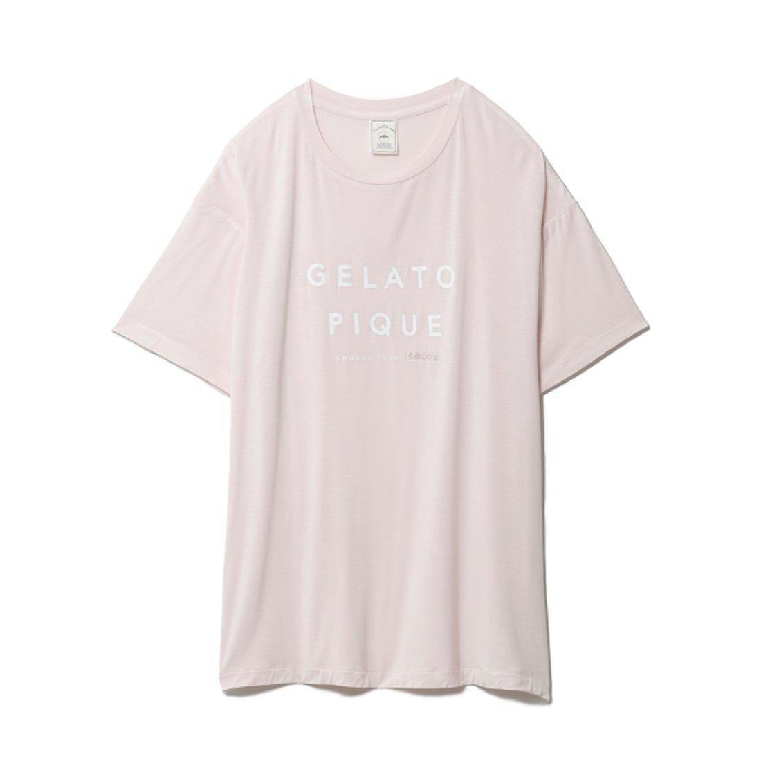 豊富な5つのカラーバリエーションで自分らしさが見つかるTシャツ おすすめで人気、流行・トレンド、ファッション通販商品 インテリア・家具・キッズファッション・メンズファッション・レディースファッション・服の通販 founy(ファニー) 【ジェラート ピケ/gelato pique】 トレンドファッション・スタイル  Fashion Trends ブランド Brand ファッション Fashion レディースファッション WOMEN トップス・カットソー Tops/Tshirt シャツ/ブラウス Shirts/Blouses ロング / Tシャツ T-Shirts 春 Spring サマー シンプル スマート セットアップ プリント モチーフ リラックス ワンポイント 2021年 2021 S/S・春夏 SS・Spring/Summer 2021春夏・S/S SS/Spring/Summer/2021 夏 Summer |ID:prp329100001852362