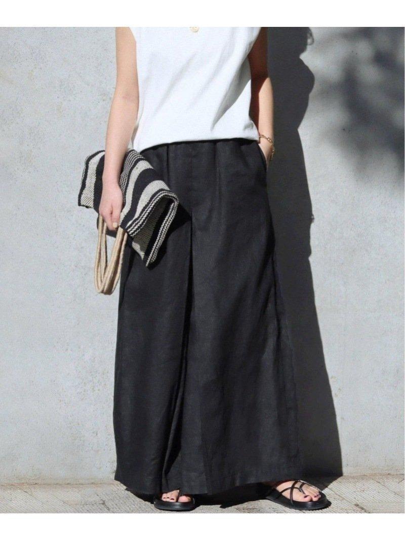 大人気のタックキュロット 人気、トレンドファッション・服の通販 founy(ファニー) 【ジャーナルスタンダード/JOURNAL STANDARD】 トレンドファッション・スタイル  Fashion Trends ブランド Brand ファッション Fashion レディースファッション WOMEN スカート Skirt 2021年 2021 2021春夏・S/S SS/Spring/Summer/2021 S/S・春夏 SS・Spring/Summer キュロット ジーンズ リネン  ID:prp329100001686813