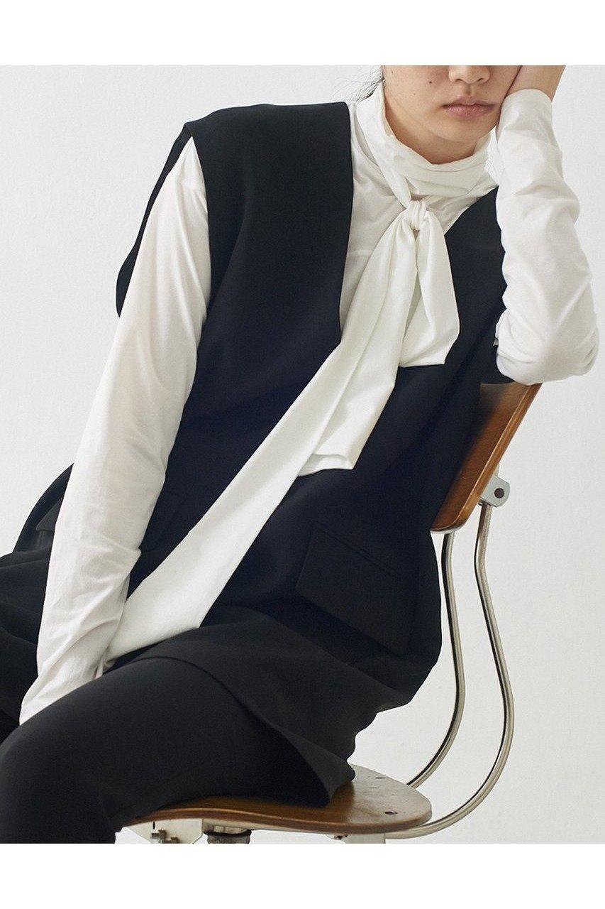 シーズンレスで着回しを楽しめるチュニックベスト 人気、トレンドファッション・服の通販 founy(ファニー) 【ガリャルダガランテ/GALLARDAGALANTE】 トレンドファッション・スタイル  Fashion Trends ブランド Brand ファッション Fashion レディースファッション WOMEN アウター Coat Outerwear ジャケット Jackets 2020年 2020 2020-2021秋冬・A/W AW・Autumn/Winter・FW・Fall-Winter/2020-2021 2021年 2021 2021-2022秋冬・A/W AW・Autumn/Winter・FW・Fall-Winter・2021-2022 A/W・秋冬 AW・Autumn/Winter・FW・Fall-Winter S/S・春夏 SS・Spring/Summer とろみ インナー ジャケット タンク タートルネック ダブル チュニック ベスト ポケット ロング 半袖 夏 Summer 春 Spring 秋 Autumn/Fall |ID:prp329100001872683