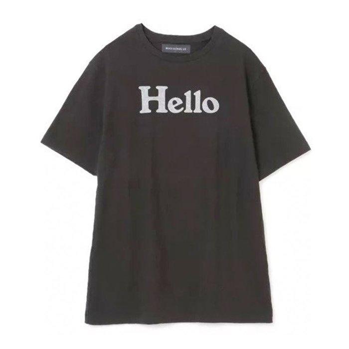 【別注】ヴィンテージライクなコットン天竺を使用したプリントTシャツ、HELLO TEEなど、おすすめ!注目の人気トレンドファッションアイテム 人気、トレンドファッション・服の通販 founy(ファニー) 【マディソンブルー/MADISONBLUE】 【アッパー ハイツ/upper hights】 【エンチャンテッド/enchanted】 【アエタ/Aeta】 【マルティニーク/martinique】 トレンドファッション・スタイル  Fashion Trends ブランド Brand 雑誌掲載アイテム Magazine Items ファッション雑誌 Fashion Magazines マリソル Marisol エクラ eclat ファッション Fashion レディースファッション WOMEN トップス・カットソー Tops/Tshirt シャツ/ブラウス Shirts/Blouses ロング / Tシャツ T-Shirts カットソー Cut and Sewn パンツ Pants スカート Skirt インナー カットソー ジャケット プリント 半袖 5月号 7月号 テーパード デニム レギュラー 別注 春 Spring 洗える 雑誌 シューズ ライニング |ID:stp329100000000489