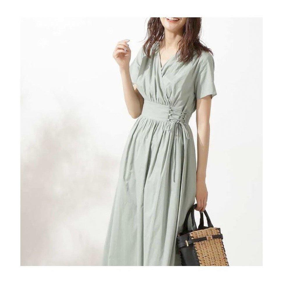 【エヌ ナチュラルビューティーベーシック / N.】大人らしいカラーとレースアップディテールが魅力的なカシュクールワンピースなど、おすすめ!注目の人気トレンドファッションアイテム おすすめで人気の流行・トレンド、ファッションの通販商品 インテリア・家具・メンズファッション・キッズファッション・レディースファッション・服の通販 founy(ファニー) https://founy.com/ 【エヌ ナチュラルビューティーベーシック/N.Natural Beauty basic】 トレンドファッション・スタイル  Fashion Trends ブランド Brand ファッション Fashion レディースファッション WOMEN ワンピース Dress トップス・カットソー Tops/Tshirt キャミソール / ノースリーブ No Sleeves シャツ/ブラウス Shirts/Blouses カーディガン Cardigans シャツワンピース Shirt Dresses ギャザー シャーリング シンプル ヨーク レース 半袖 夏 Summer デニム ノースリーブ 人気 カーディガン コンパクト シアー スリーブ 今季 シェイプ フィット フェミニン ティアードワンピース フリル  ID:stp329100000000491