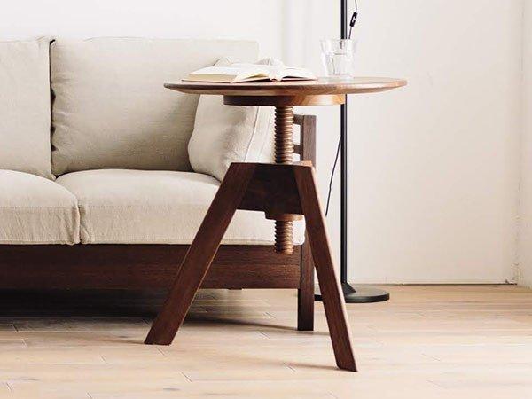 天板を回すことで高さ調節が可能な昇降式テーブル おすすめで人気、流行・トレンド、ファッション通販商品 インテリア・家具・キッズファッション・メンズファッション・レディースファッション・服の通販 founy(ファニー) 【広松木工/Hiromatsu Furniture / GOODS】 トレンドファッション・スタイル  Fashion Trends ブランド Brand 送料無料 Free Shipping テーブル プレート ホーム・キャンプ・アウトドア Home,Garden,Outdoor,Camping Gear 家具・インテリア Furniture テーブル Table サイドテーブル・小テーブル  ID:prp329100000009600
